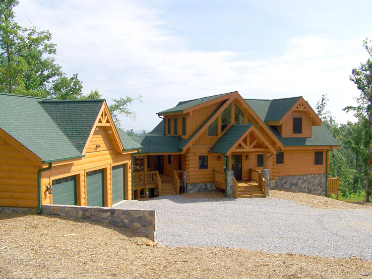 Nc Mountain Land For Sale With Log Cabin Turn Key Home