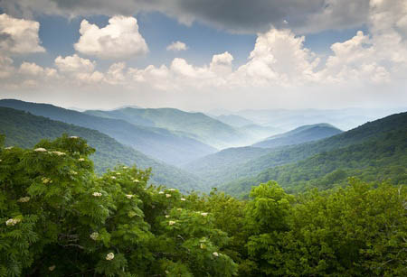 North Carolina Mountain views