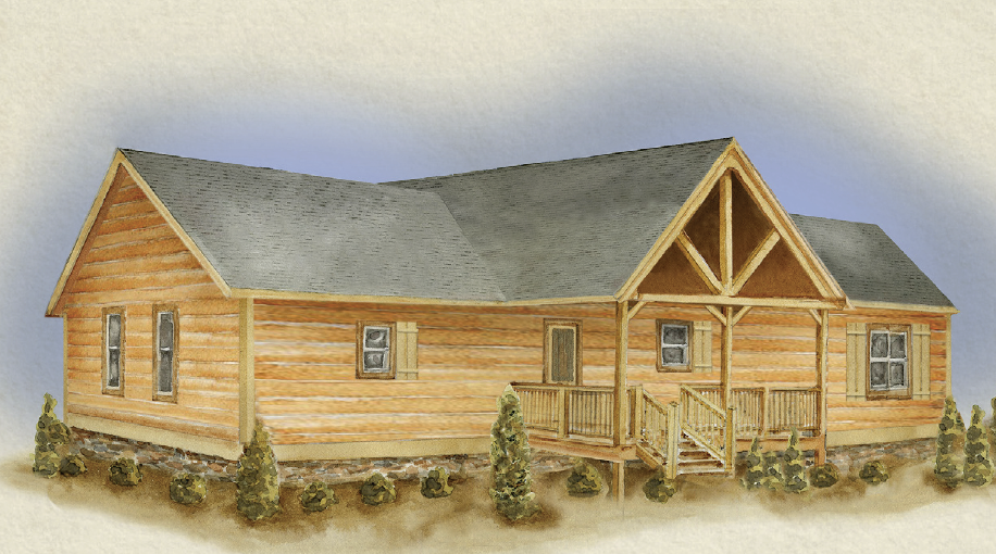 North Carolina Log Cabin Builder and Land